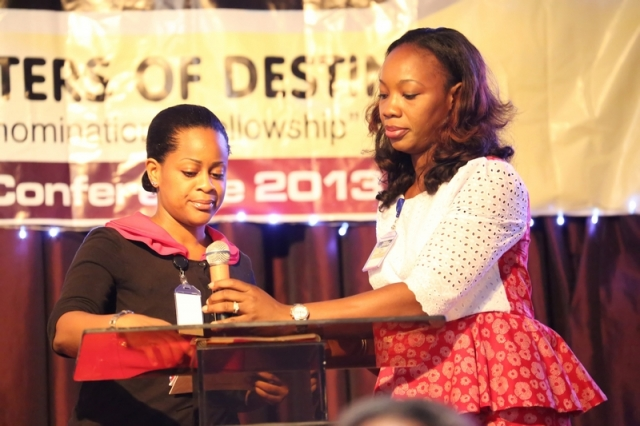 Sister Chinedu Ibisi and Sister Tobi Awoleye (MCs of the Event)