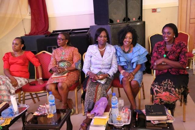 From Right: Mrs Uju Irukwu, Monique, Apostle Busola Jegede, Pastor (Mrs) Debola Atoyebi, Mrs Ayo Maji