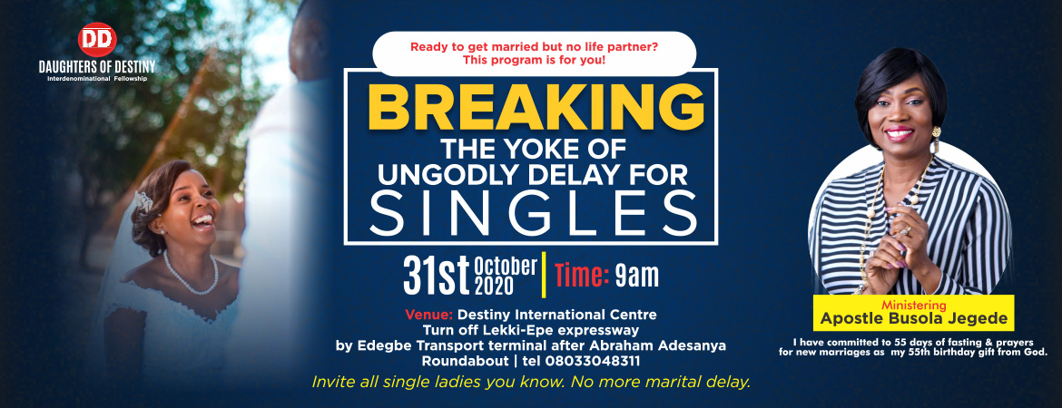 Breaking the York Of Ungodly Delay For Singles